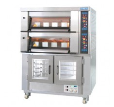MB-622+SM-10F ELECTRIC BAKING OVEN, 2 DECKS
