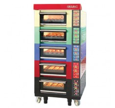 SM-905C ELECTRICAL ASIAN CLASICAL OVEN, 5 DECKS