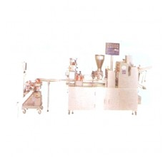 YJ-1520BS+YJ-SE51L+YJ-SW43L DOUGH FORMING MACHINE C/W FILLING DEPOSITOR AND TWIST CUTTER MACHINE