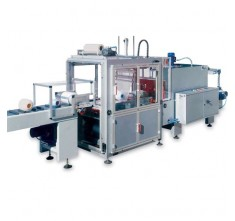 ARF-500C WRAPPING MACHINE WITH BM-1406B AND CONVEYOR ARF-500C