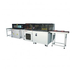 FL-5545TBH AND SM-5030LX HIGH SPEED SIDE SEALING WITH SHRINK MACHINE