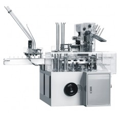 ZH-150 AUTOMATIC ENCASING (CARTONING) MACHINE FOR BOTTLE