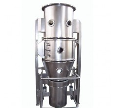FL-200 FLUID BED GRANULATOR (SS316L) WITH STRRING DEVICE IN CONTAINER