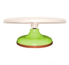JC45122 PLASTIC DISPLAY STAND (LEAF GREEN)