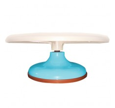 JC45133 PLASTIC DISPLAY STAND (SKY BLUE)