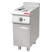 HKE-DZ-900S ELECTRIC STYLE 1 TANK FRYER WITH CABINET