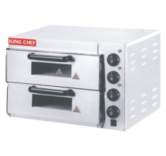 FY-EP-2 ELECTRIC PIZZA OVEN (2 DECK-STAINLESS)