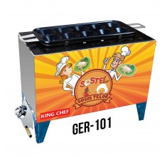 GER-101 GAS EGG ROLL MACHINE