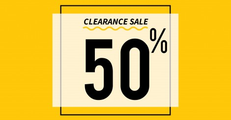 ALL ITEM DISCOUNT 50%