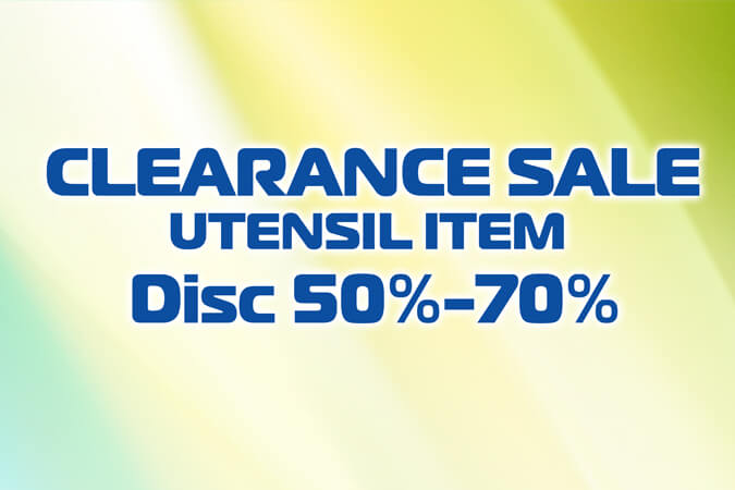 UTENSIL Clearance Sale